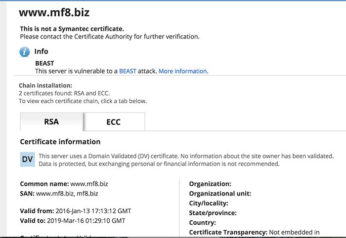 生成、签署 ECC 证书,Apache Httpd 部署双证书教程-米饭粑